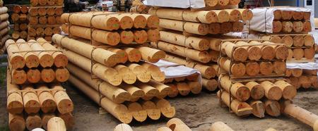 Chalet construction rondin de bois panneaux massifs chalet de bois ro - Lit en rondin de bois ...